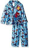 Marvel Boys' Spiderman 2-Piece Pajama Coat Set, Blue, 3T