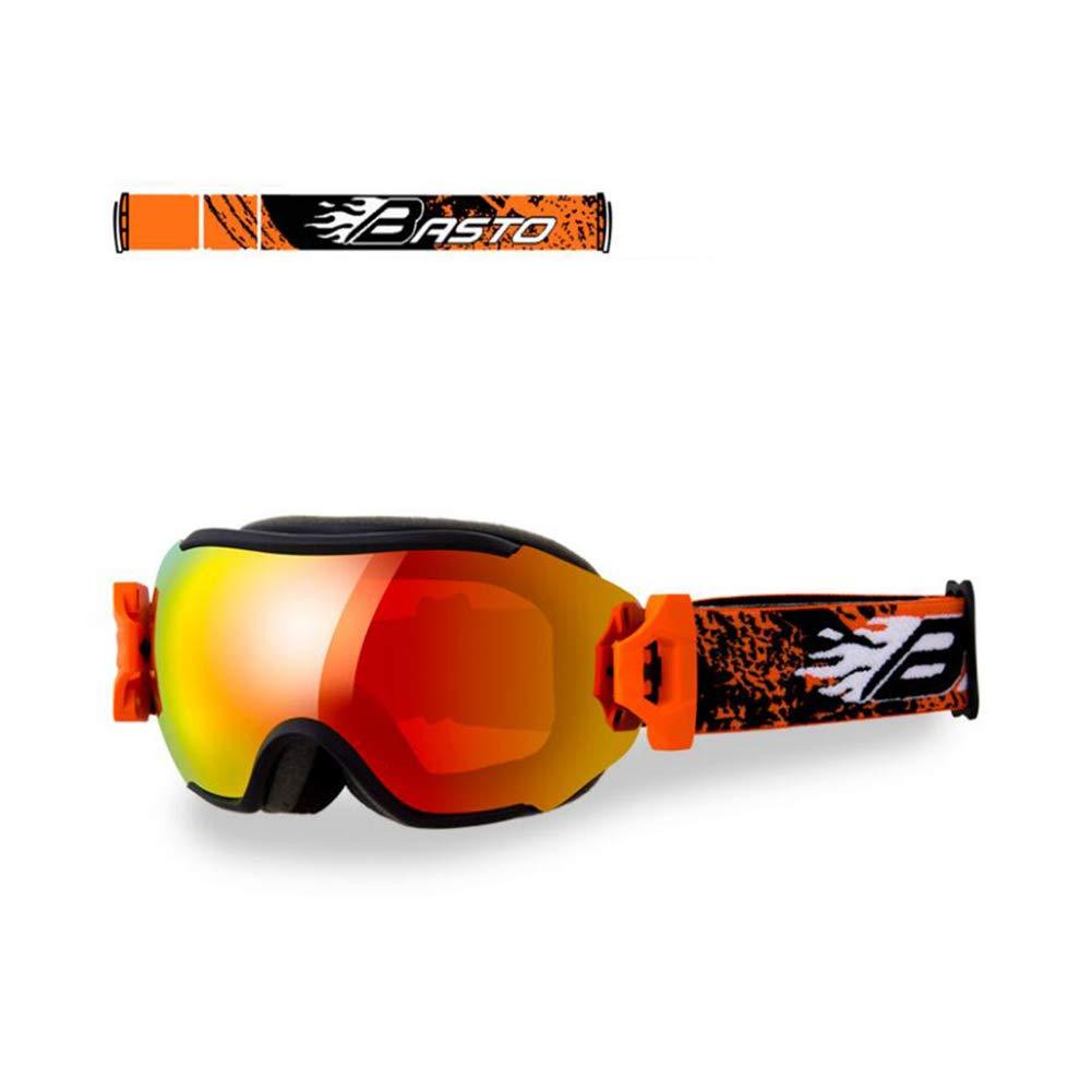 He-yanjing Skiing Goggles, Anti-Fog,UV Protection,Ski Snowboarding Goggles,Ski Goggles Men Women (Color : D) by He-yanjing