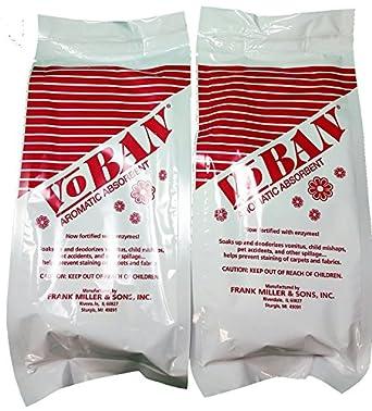 2 QTY - 1 Lb bolsas voban aromático absorbente con enzimas ...