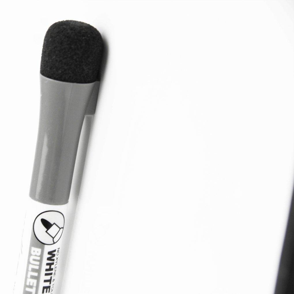 Amazon.com: Mini de doble cara pizarrón blanca magnética de ...