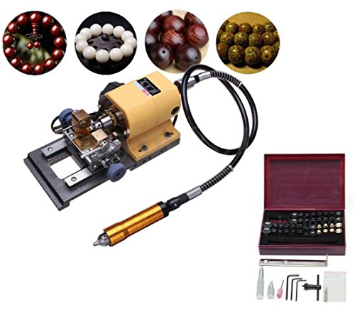EFK-II Supply 380W Pearl Drilling Holing Machine Driller Bead Jewelry Punch Tools Full Set 110/220V (110V) by EFK-II Supply
