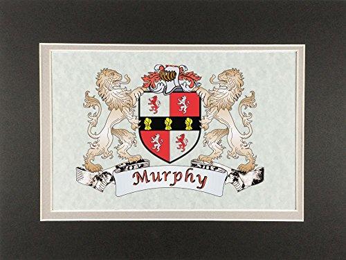 (Murphy Irish Coat of Arms Print - Frameable 9