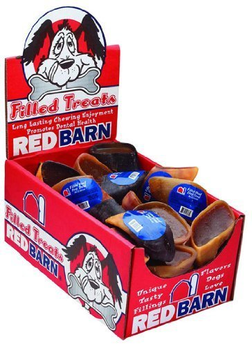 Redbarn - Filled Hooves Pet Treats, Meaty Beef Mixture (Case Pack - 25) by REDBARN PREMIUM PET PRODUCTS