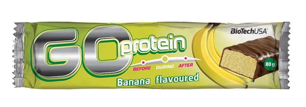 Biotech Go Protein Bar Plátano 21/D Proteínas - 80 gr: Amazon.es: Salud y cuidado personal