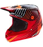 One Industries Atom Fragment Helmet (Red, XX-Large)