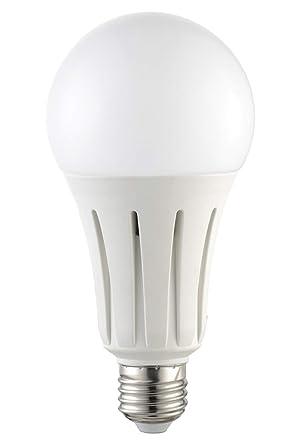 Bombilla LED greenandco® IRC 90+ E27 24W (corresponde a 150W) opaca 2050lm