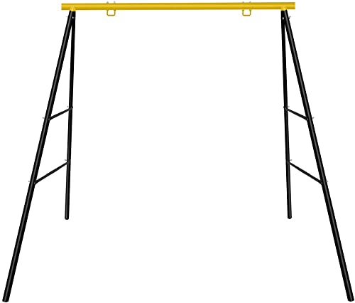EOSAGA A Frame Swing Frame Heavy Duty Metal Swing Stand for Kids Outdoor Fun, Fits for Most Swing