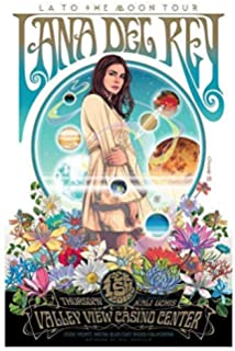 Amazon Com Divine Posters Lana Del Rey Musician Singer Songwriter 12 X 18 Inch Multicolour Famous Quoted Poster Posters Prints