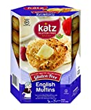 Blue Dog Kitchen Bar Katz Gluten Free English Muffins 8.5 Ounce (Pack of 6)