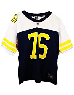 UISSOS Camiseta Futbol Americano con Doble Estampado Stewart 76 100% POLIÉSTER