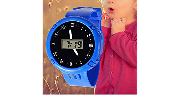 Amazon.com: Children Watches LED Digital Multifunctional Waterproof Wristwatches Outdoor Sports Watches for Kids Boy Girls reloj infantil (Blue): Beauty