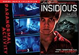 Insidious + Paranormal Activity - The Three Collection (Movies 1/2/3) Haunted Chilling Movie Set