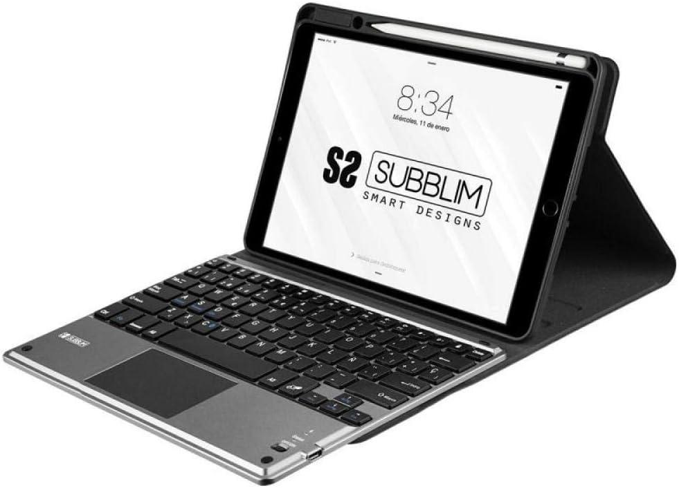 Subblim Funda con Teclado para Tablet, Multicolor, 10.2 Inch