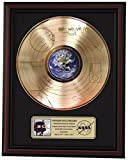 #1: VOYAGER ONE - SOUNDS OF THE EARTH GOLD LP RECORD FRAMED CHERRYWOOD DISPLAY M4