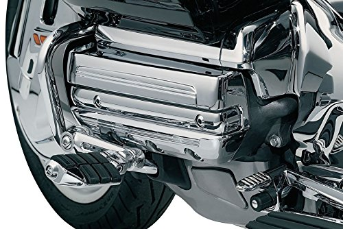 (XMT-MOTO Motor Chrome Lighting Valve Covers Kit For Honda Goldwing GL 1800 Trike 2001 2002 2003 2004 2005 2006 2007 2008 2009 2010 2012(Replaces : 3901) )