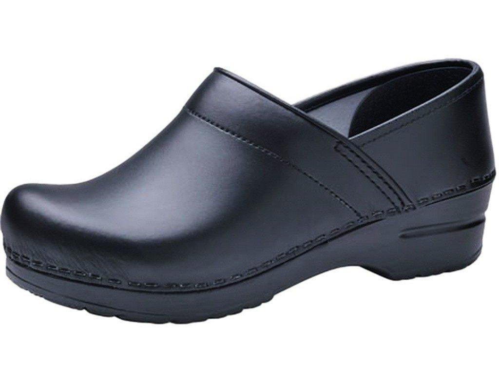 Dansko Men's Professional Clog Black Box Leather Size 44 EU (10.5-11 M US Men)