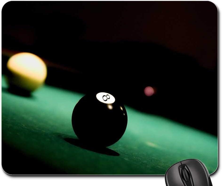Almohadillas para ratón – Bola 8 Ocho Piscina Billar Juego de mesa Sport 25 x 30 cm: Amazon.es: Oficina y papelería
