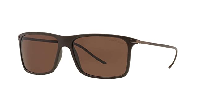 Armani Gafas de sol AR8034 BROWN, 57: Amazon.es: Ropa y ...