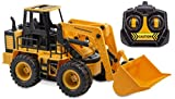 Kid Galaxy Remote Control Front Loader. RC Construction Toy Digger, 27 MHz