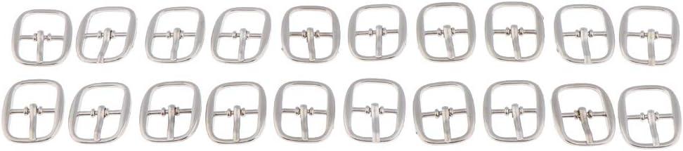 Bonarty 40 Packs Mini Boucles Artisanat dart pour Poup/ée /à Coudre De Ceinture De