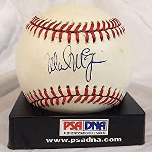 Mark Mcgwire Signed Official American League Baseball (bobby Brown) #u69791 - PSA/DNA Certified - Autographed Baseballs