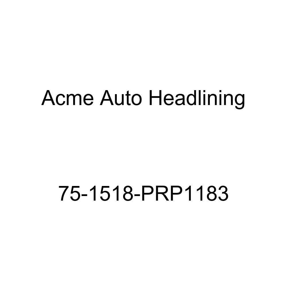 Acme Auto Headlining 75-1518-PRP1183 Dark Blue Replacement Headliner 8 Bow 1975 Pontiac Catalina Safari and Grand Safari Wagon