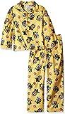 Despicable Me Boys' Little Boys' 2-Piece Pajama Coat Set, Crazy Yellow, 6