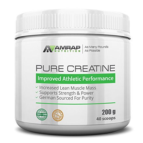 AMRAP Nutrition – Creatine Powder – Formulated to Give You Energy When You Need It Most – Builds Lean Muscle Mass – Aids in Muscle Recovery – Pre-workout, for Men – Women Review