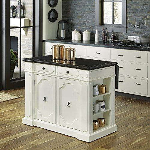 Home Styles 5076-94G Fiesta Granite Inset Top Kitchen Island (Kitchen Island With Granite Top)