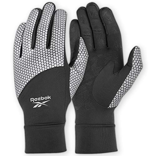 REFLECTIVE RUNNING GLOVES, S