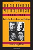 African-American Political Thought, 1890-1930 1st Edition