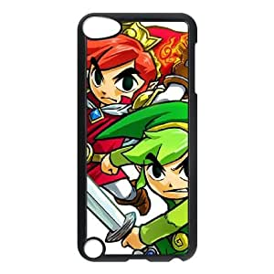 iPod Touch 5 Case Black The Legend of ZeldaTri Force Heroes 008 TR2353574