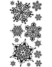 Nordic Flower Snowflake Rubber Clear Stamps for Card Making DIY Scrapbooking Paper Crafting Handmade Craft Embossing Stencil Stamping Paper Crad Making Photo Album Decor