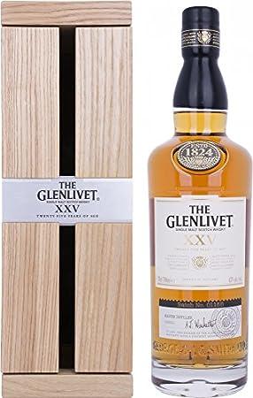 THE GLENLIVET 25 AÑOS, 700 ml