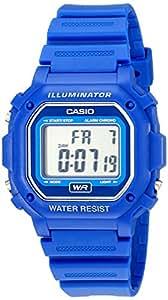 Casio Men's Classic Digital Resin Watch Blue F108WH-2