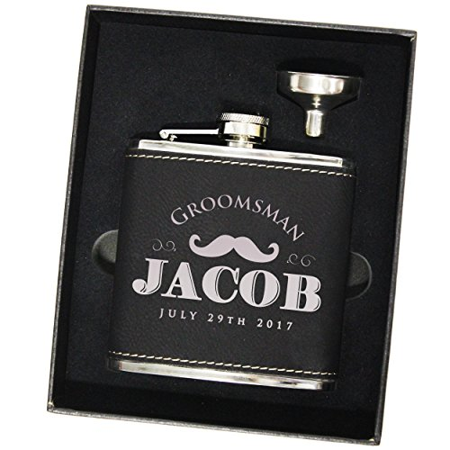 Engraved-Brown-Leather-Groomsmen-Flask-Sets-Personalized-Wedding-Favors-Custom-Monogram-Groomsman-Gifts-WPS