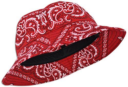 89edb7ccf bandana paisley bucket hat buyer's guide   Pokrace.com