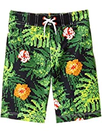Gymboree Big Boys' His Printed Swim Trunks