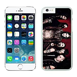 NEW DIY Unique Designed Case For iphone 6 plus Motionless In White iphone 6 plus White 5.5 TPU inch Phone Case 301