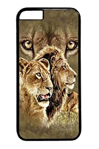 iphone 6 4.7 Case, iphone 6 4.7 Cases -Kids Find 10 Lions PC Hard Plastic Case for iphone 6 4.7 inch BlackKimberly Kurzendoerfer