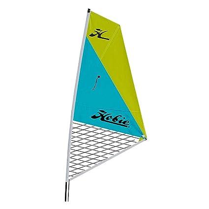 16c71e8564eb2 Amazon.com : Hobie Mirage Kayak Sail Kit-Aqua/Chartreuse : Sports ...