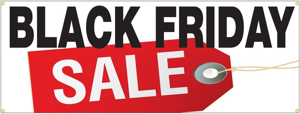 Amazon Com Black Friday Sale Special Huge Discount Sale Sign 24x72 Office Products