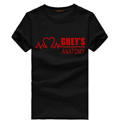 CosDaddy ® GREY\'S ANATOMY T-Shirt Bequem Baumwolle Cosplay: Amazon ...