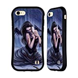 """Official Tiffany """"tito"""" Toland-Scott Fallen Angel With White Feather Gothic Art Hybrid Case for iPhone 7 / iPhone 8"""