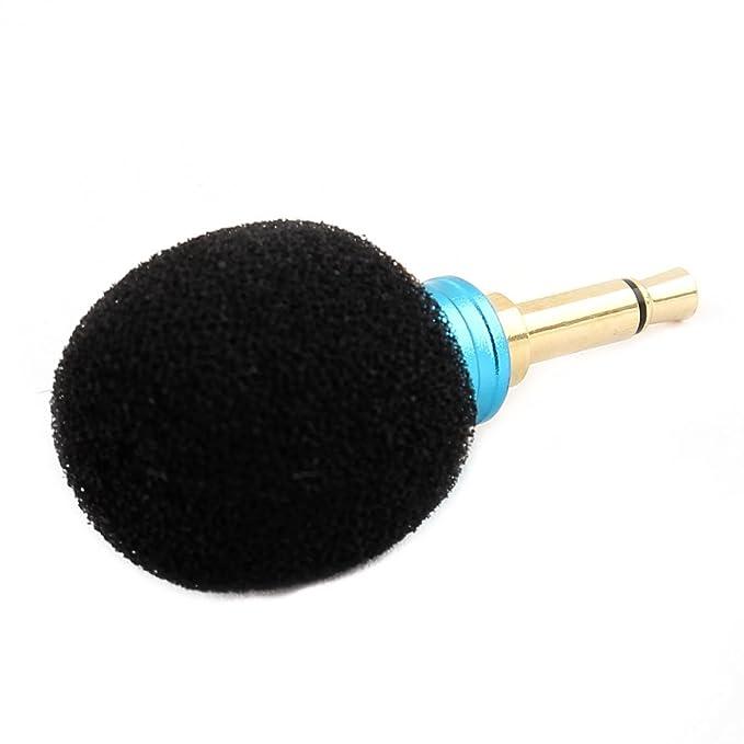 Amazon.com: eDealMax portátil de Mano 3.5mm Mini micrófono Azul Para Smartphone Tablet: Electronics