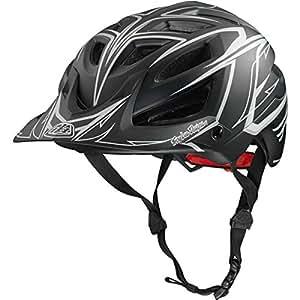 Troy Lee Designs Turbo A1 Bike Sports BMX Helmet - Black / X-Large/2X-Large