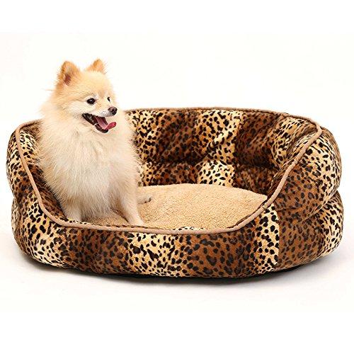CHONGWUCX colorful Stripe Pet Bowl Rectangular Doghouse