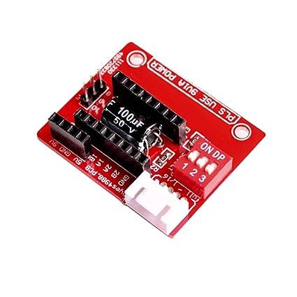 Sharplace A4988 Drv8825 Impresora 3D Tarjeta Controlador Accesorio Ordenador Portátil Cámara Fotografía