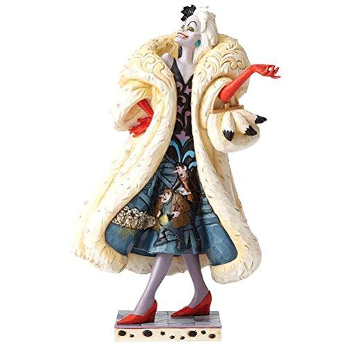 Jim Shore Disney Traditions Devilish Dognapper Cruella De Vil Figurine -