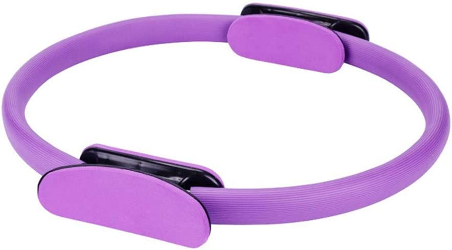 FRP Crescent Handle Pilates Circle Yoga Ring for Body Sculpting Toning Inner Thighs Weight Loss alivoda Pilates Circle